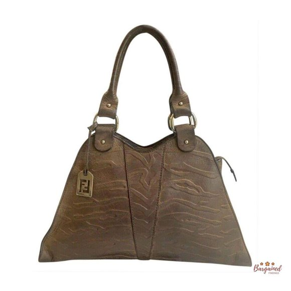 Authentic Fendi Devil Trapezio Bag 8BR254